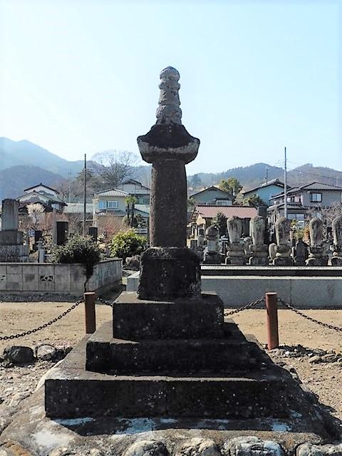 道忠禅師の供養塔(浄法寺)