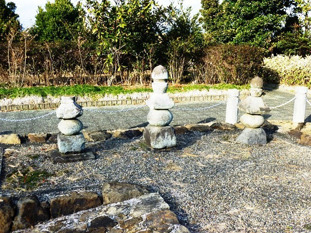 岩松尚純の墓(尚純萩公園)