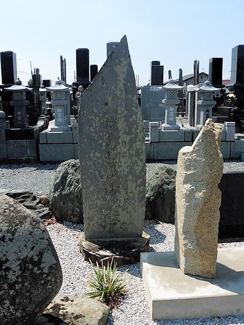 斎藤利安の墓(弘福寺)
