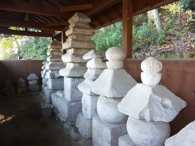 新田氏累代の墓(円福寺)