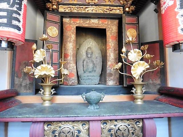 定善寺の不動明王像