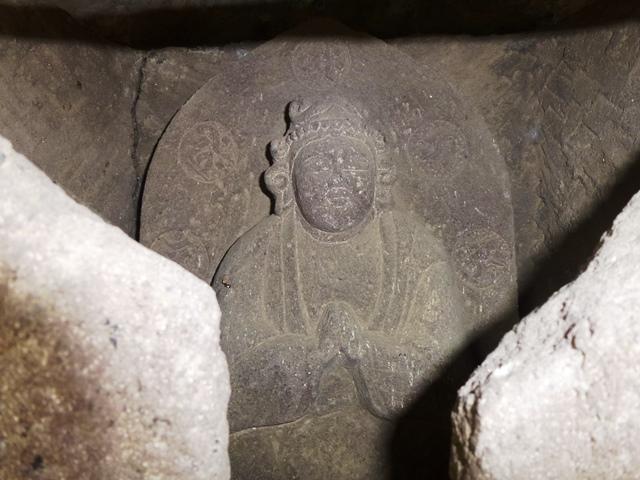 妙見寺の勢至菩薩像