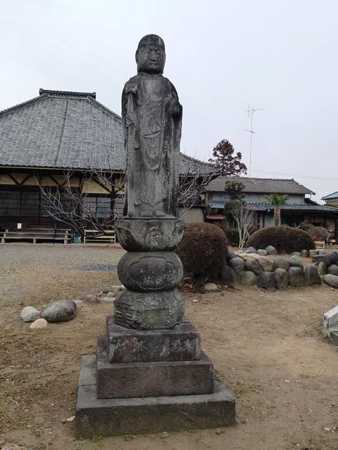 成願寺の地蔵菩薩石像