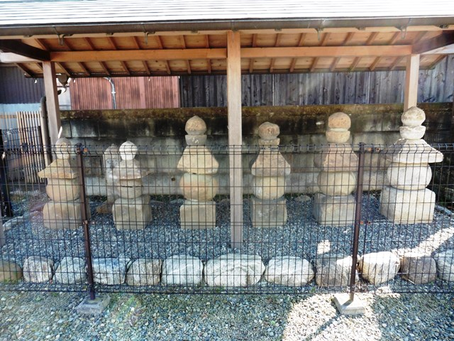 庭屋氏累代の墓(甘楽町庭谷)