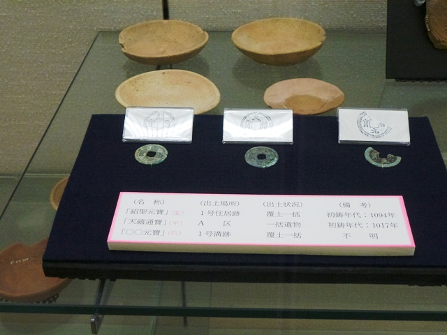 埋蔵文化財展示室