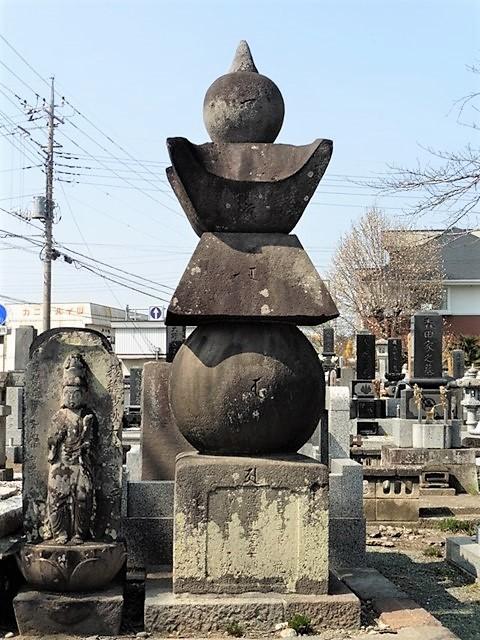 薬王寺の五輪塔