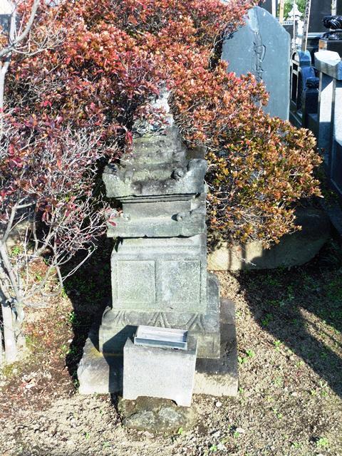 勾当内侍の墓(大圓寺)