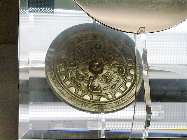 大泉町文化むら(同向式画文帯神獣鏡)