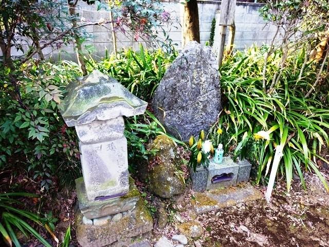 伝・源義平の墓(清泉寺)