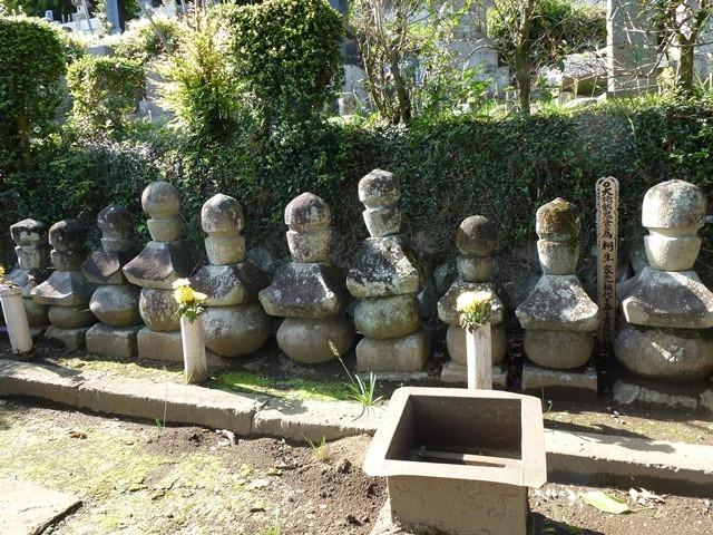桐生氏累代の墓(西方寺)