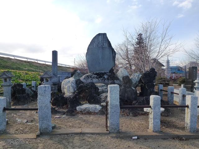 福島泰蔵陸軍大尉の墓(天人寺)