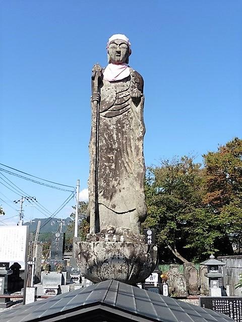 岩井の背高地蔵(東吾妻町)