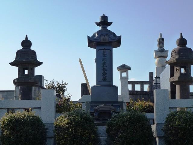 関孝和の墓(光徳寺)