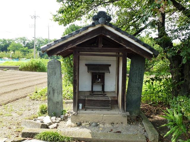 葵八幡宮の板碑