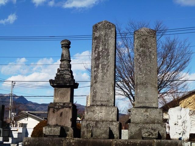 本多廣孝の墓(中央)(源空寺)