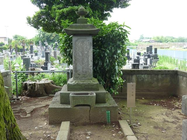秋元景朝の墓(元景寺)