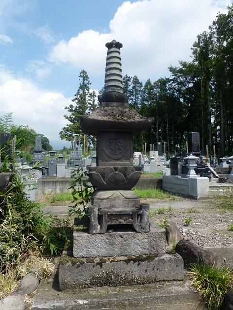 北爪将監の供養塔(赤城寺)