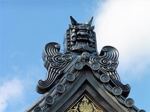 鬼瓦(寿楽寺)