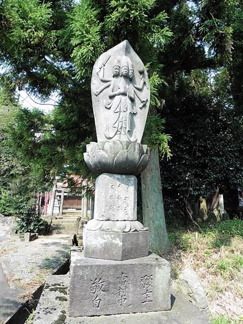 馬場稲荷神社の馬頭観音