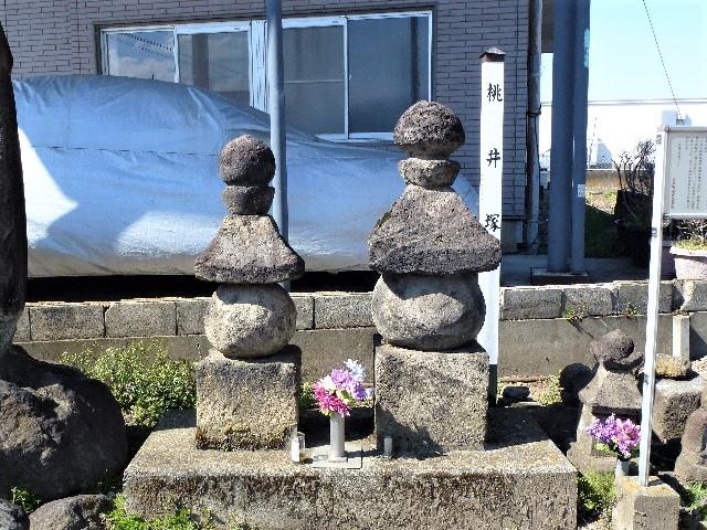 伝・桃井直常の墓(吉岡町南下)