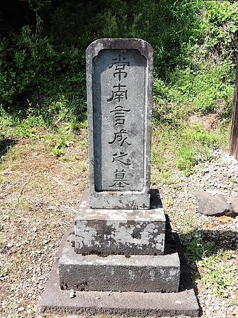 根本常南の墓(渋川市横堀)