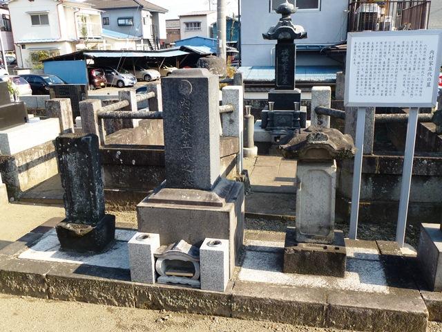 内村鑑三家5代の墓(光明寺)
