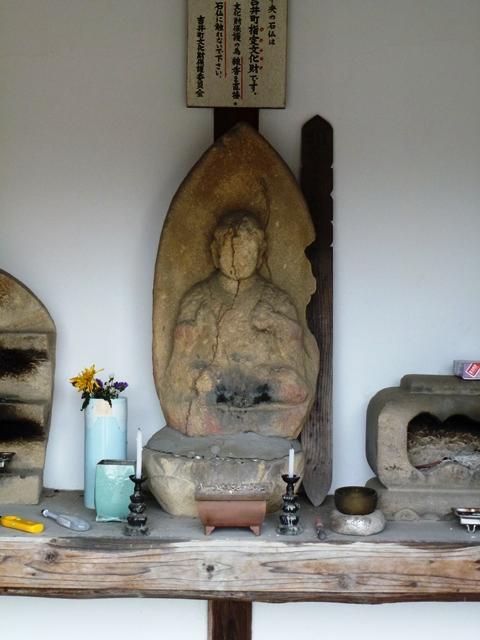地勝寺の薬師如来坐像