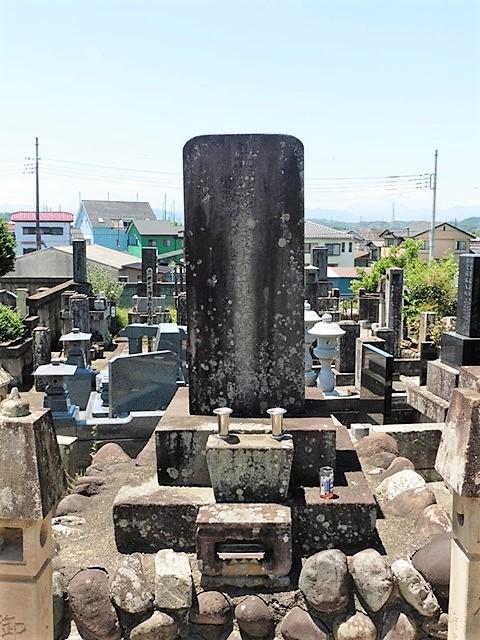 菅沼定利の墓(玄太寺)