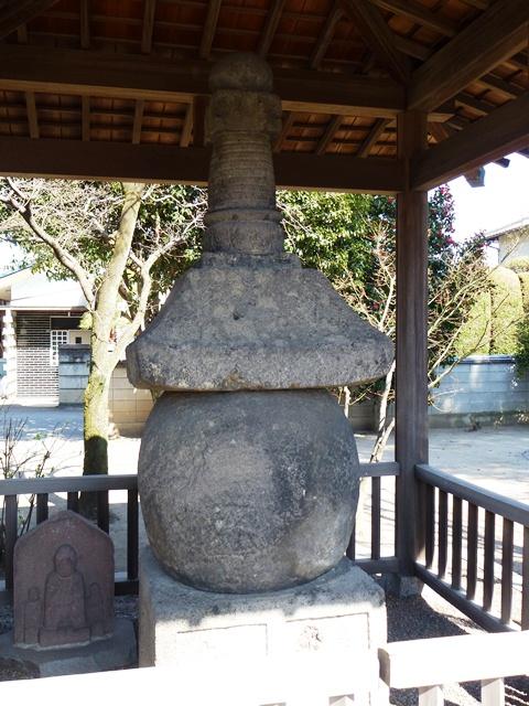 天増寺の宝塔