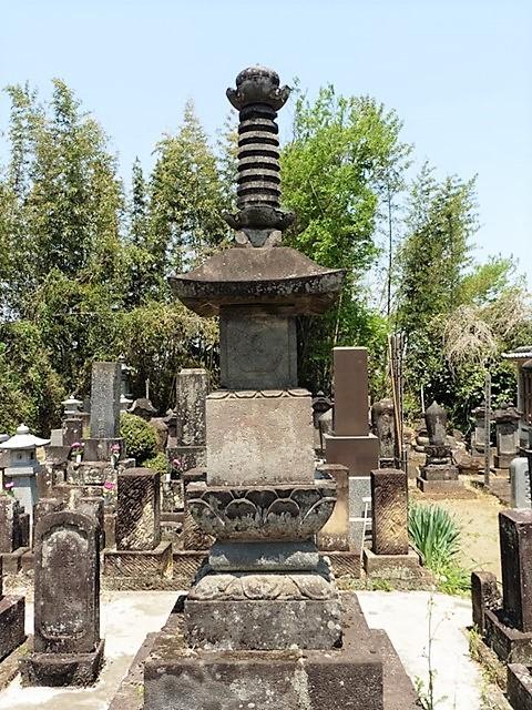 延命寺の宝篋印塔