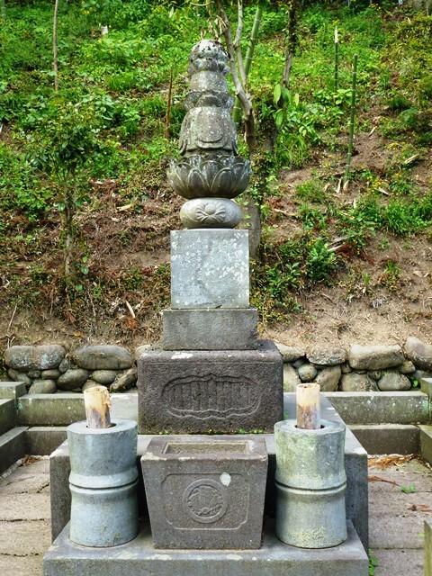 大道寺政繁の墓(補陀寺)