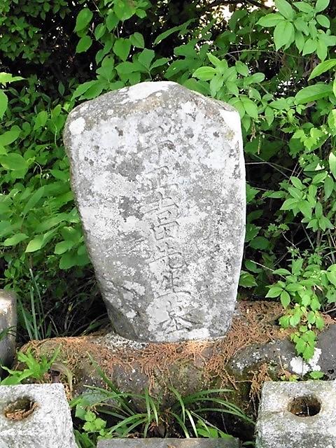 吉田芝渓の墓(渋川市渋川)