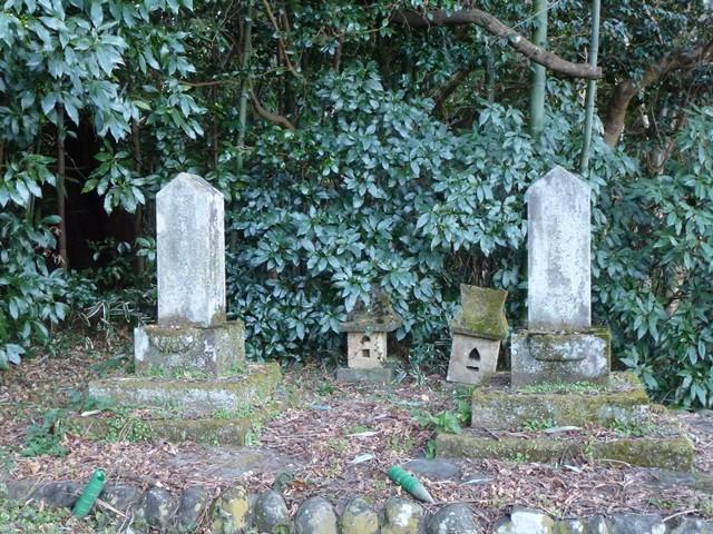 依田信守の墓(天陽寺)