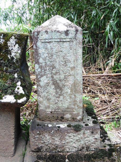 加沢平次左衛門の墓(沼田市下川田町)