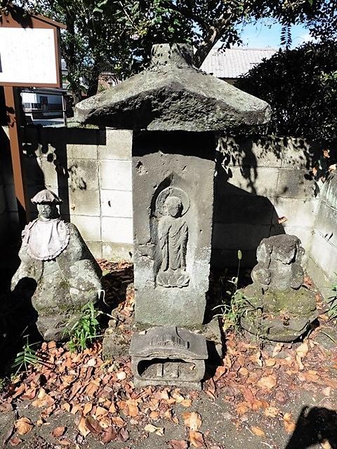 安養寺跡の笠塔婆