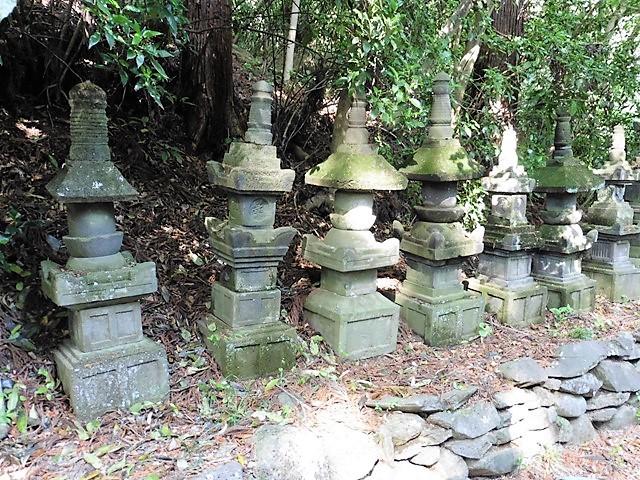 白井長尾氏累代の墓(空恵寺)