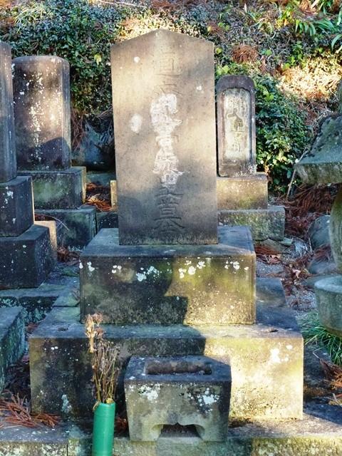 高橋道斎の墓(常住寺)