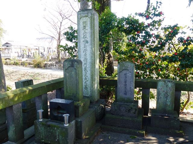 小畠武堯の墓(善応寺)