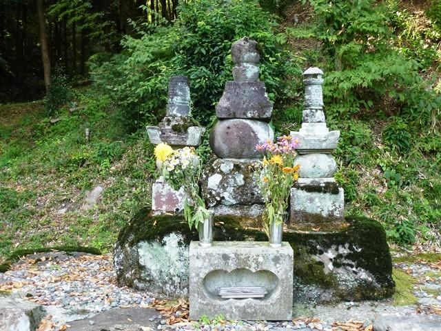 後閑信純の墓(長源寺)