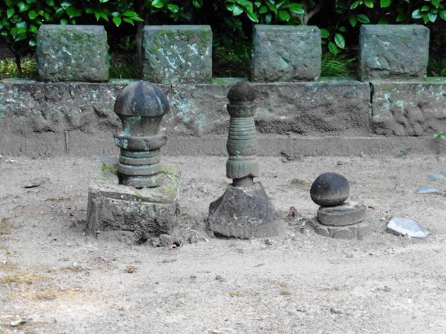 月船琛海の墓所(長楽寺)