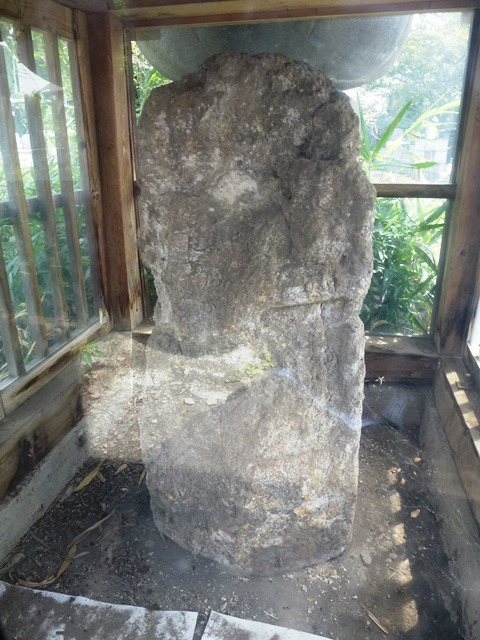 赤城寺の六地蔵石幢