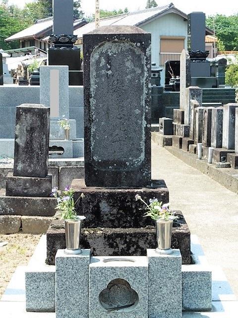 義民・三木市右衛門の墓(高崎市吉井町)