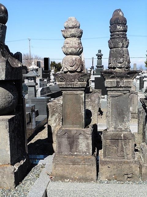 石田三成の娘・辰姫の墓(東楊寺)