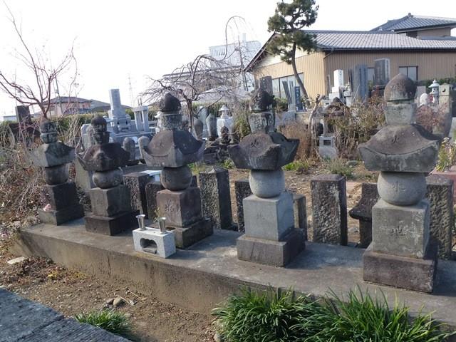駒井氏累代の墓(竹芳寺)