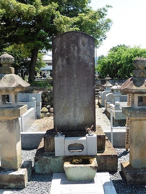地頭・溝口豊前守勝信の墓(仁叟寺)