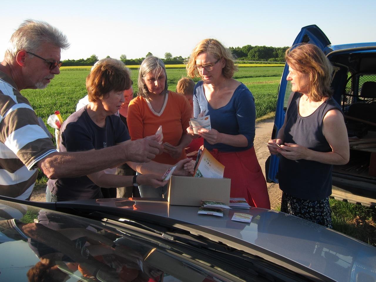 Das Saatgut wurde von der Bingenheimer Saatgut AG gespendet.