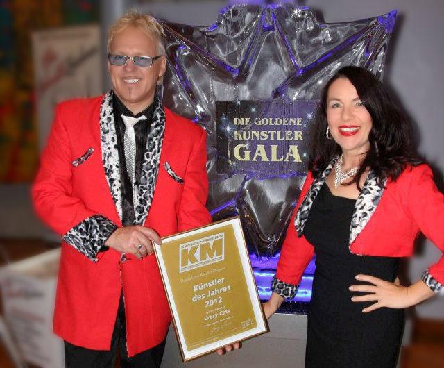Die Crazy Cats mit ihrer Auszeichnung (Foto J. Galesky)