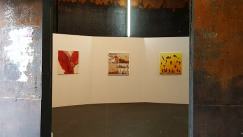 Kleiner Einblick in den ersten Ausstellungsraum
