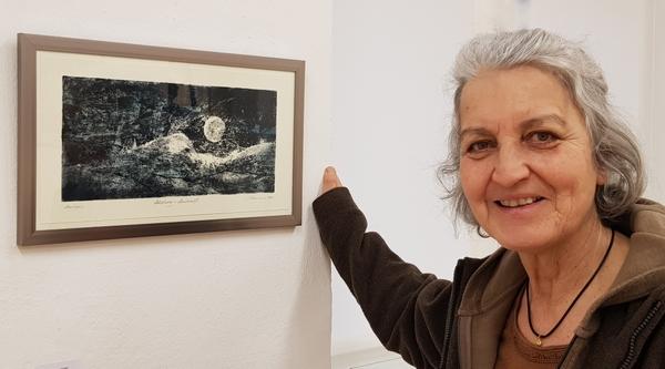 Monika Ebertowski - Leitung der Kunststation