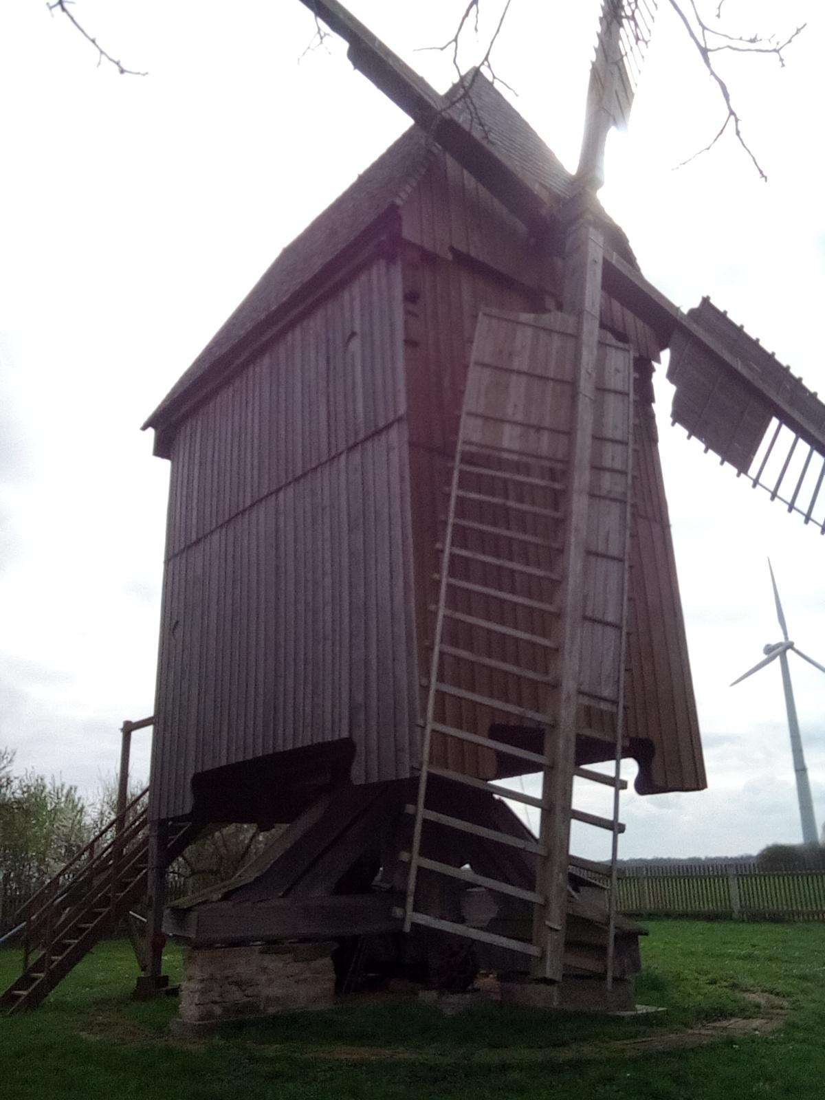 Unser Schmuckstück - Die Bockwindmühle